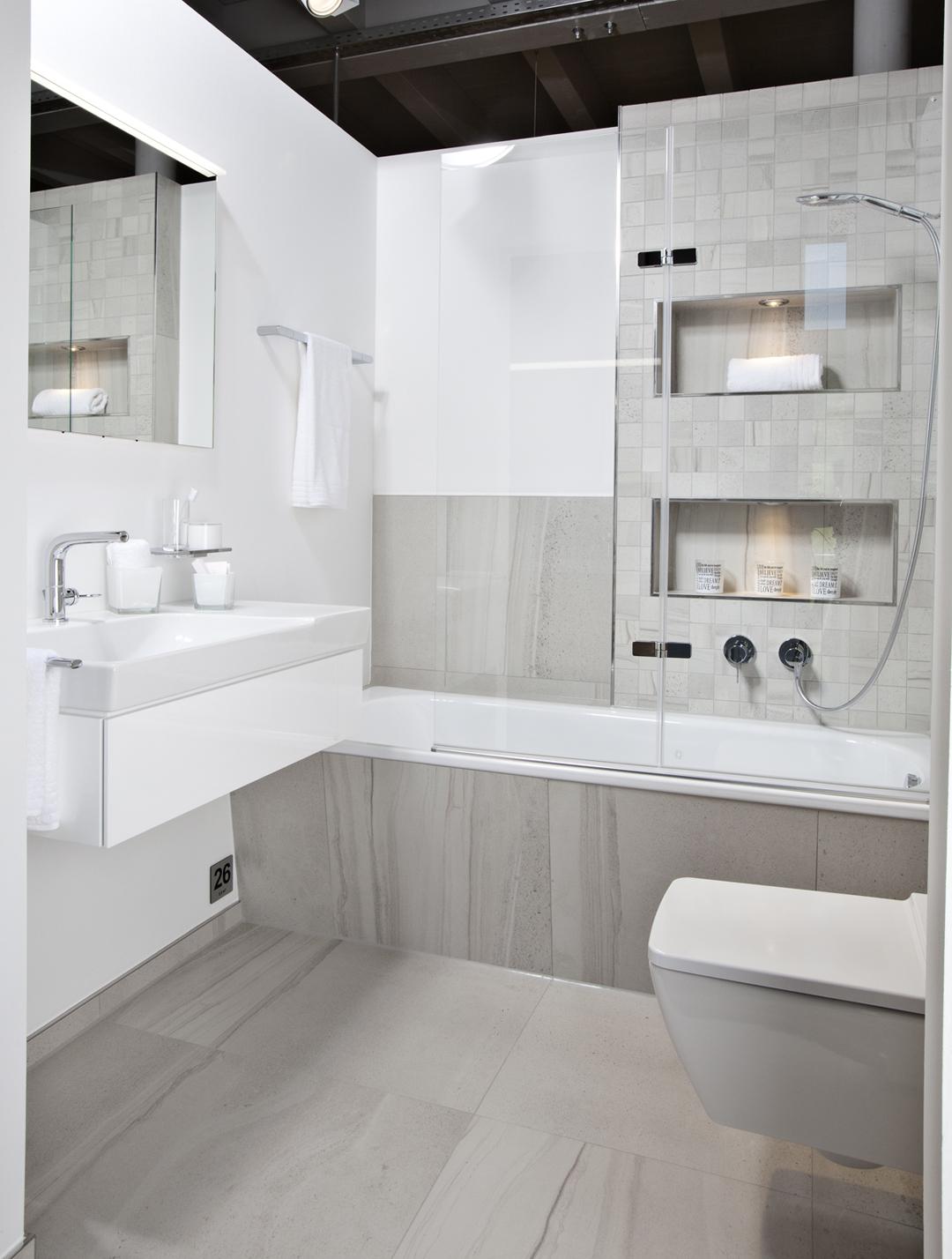 Schon Helles, Modernes Bad Auf Kleinem Raum